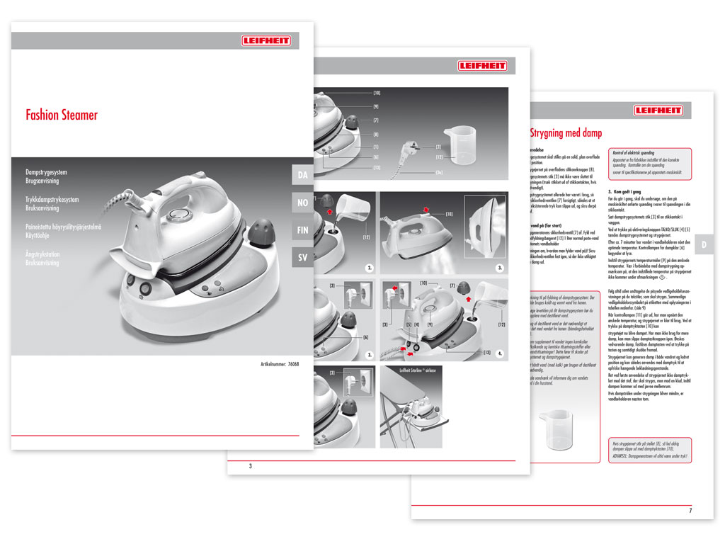 Bedienungsanleitung Nutzwert Design